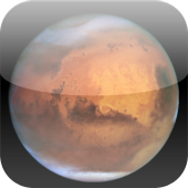 Mars Mission Clock Icon